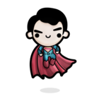 Normal flash clipart little superman 6