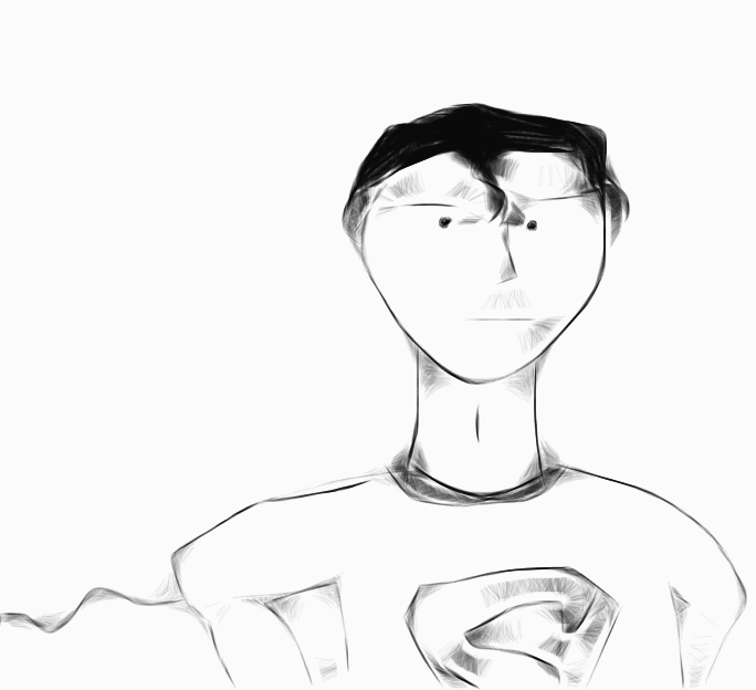 Sketch superman   copy