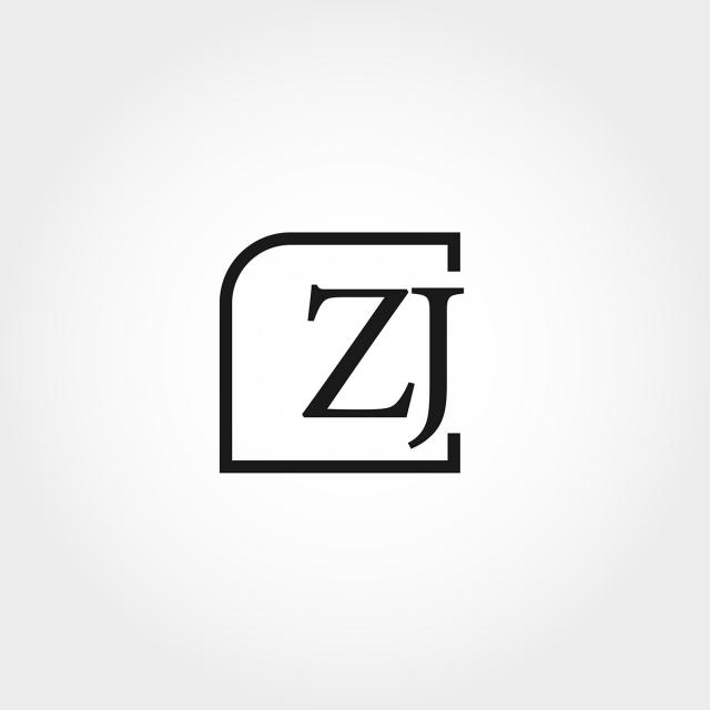 Pngtree initial letter zj logo template design png clipart 3579481