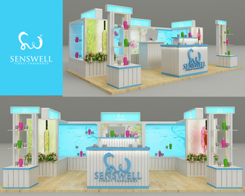 Interior / Booth Design | Design counter body care and