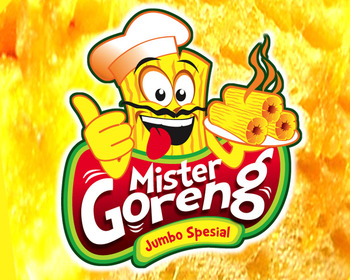 Logo Design Food & Beverage - Logo / icon untuk tukang gorengan - #91