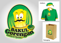 Logo Design Food & Beverage - Logo / icon untuk tukang gorengan - #106