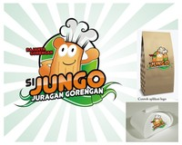 Logo Design Food & Beverage - Logo / icon untuk tukang gorengan - #127