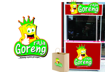 Logo Design Food & Beverage - Logo / icon untuk tukang gorengan - #122