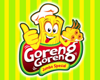Logo Design Food & Beverage - Logo / icon untuk tukang gorengan - #66