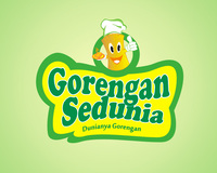 Logo Design Food & Beverage - Logo / icon untuk tukang gorengan - #102