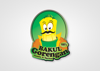 Logo Design Food & Beverage - Logo / icon untuk tukang gorengan - #134
