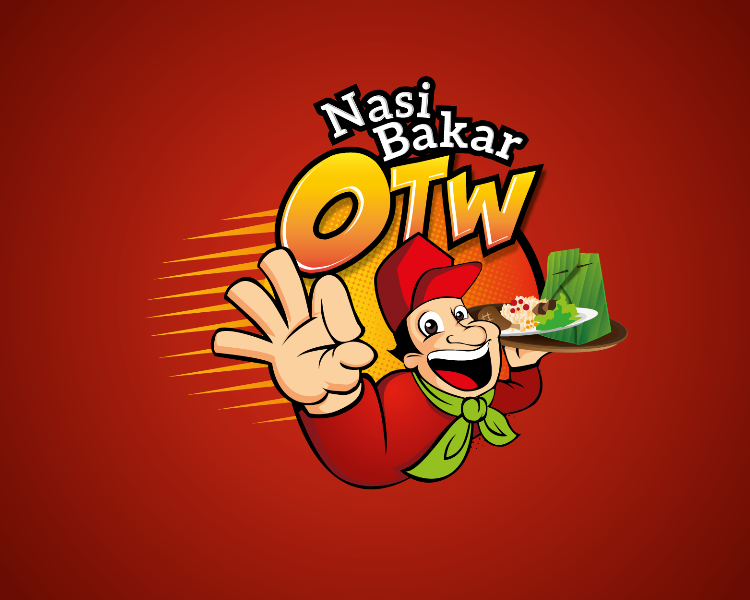 gallery logo nasi bakar otw on the way gallery logo nasi bakar otw on the