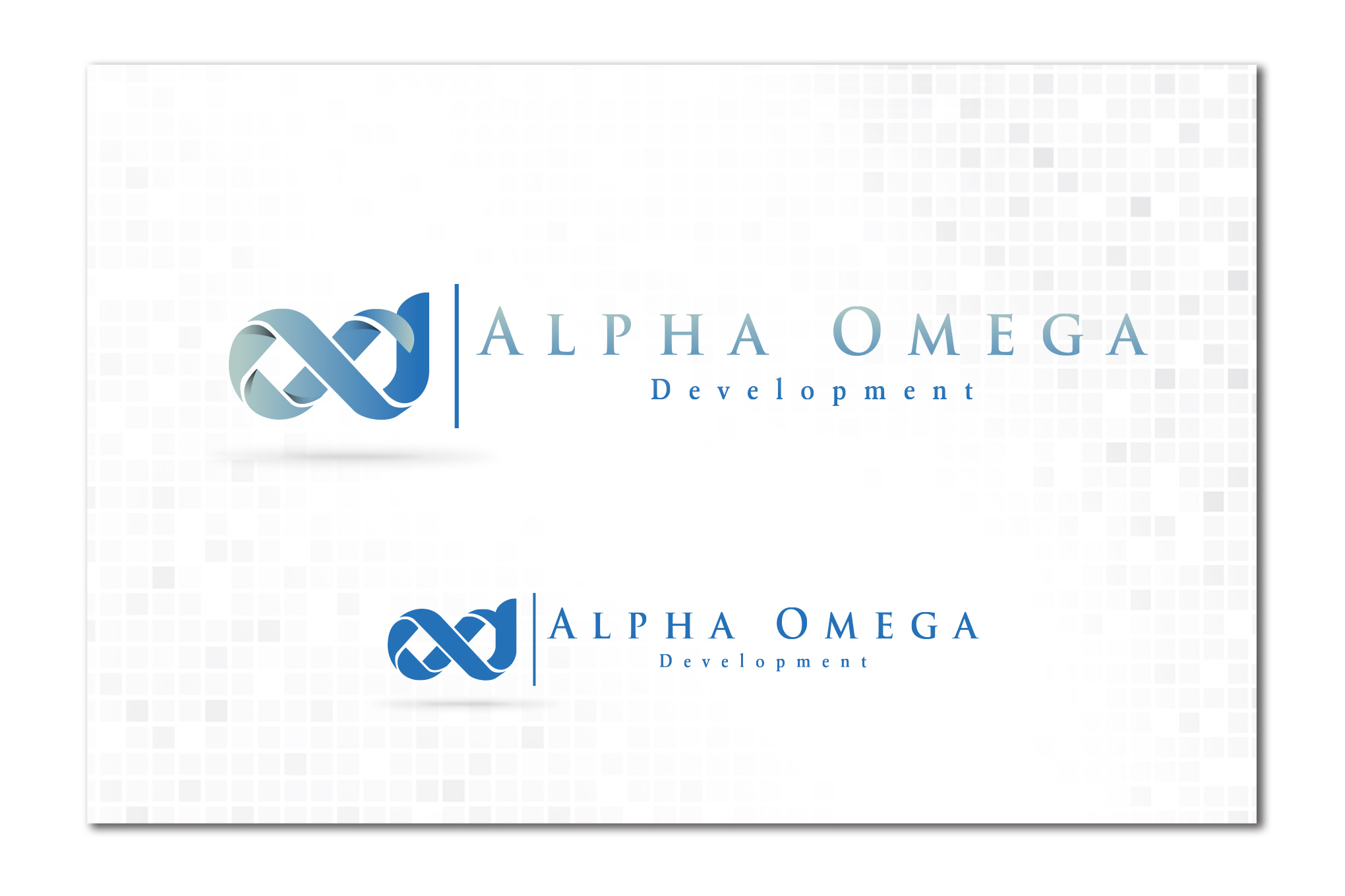 Gallery : Logo and Stationery Design for u0026quot;ALPHA OMEGA DEVELO