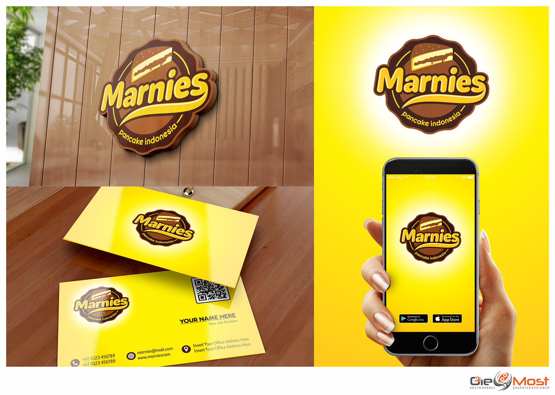 Sribu Desain Logo & Stationery Logo Design For Martabak B