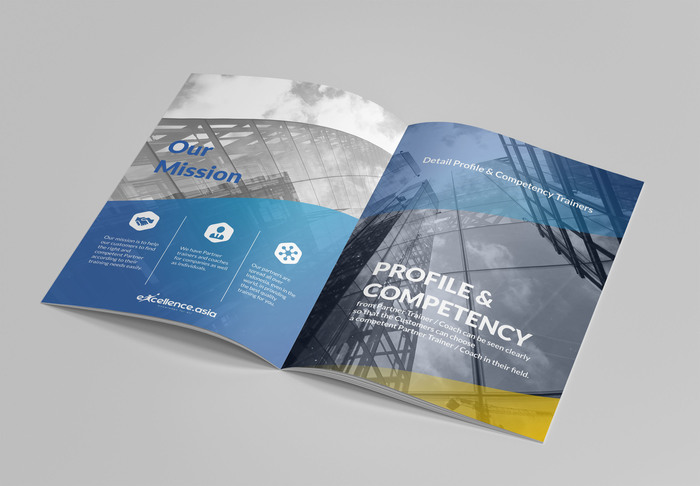 Construction Company Profile Design For Free