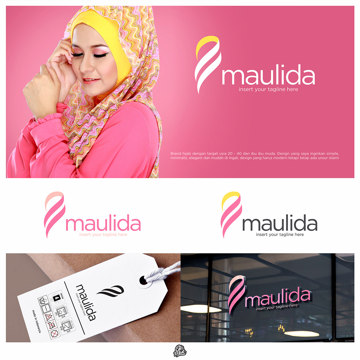 Gallery  Design Logo Brand Hijab Indonesia