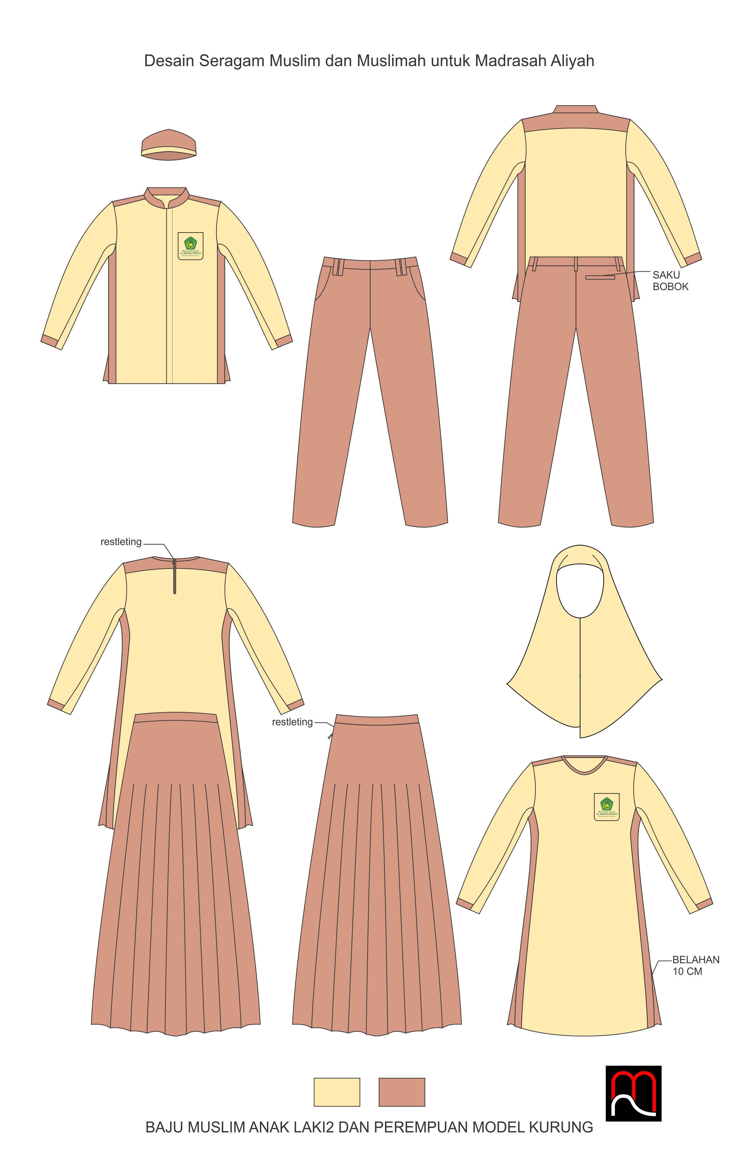 Sribu: Office Uniform/Clothing Design - Desain Seragam Musli