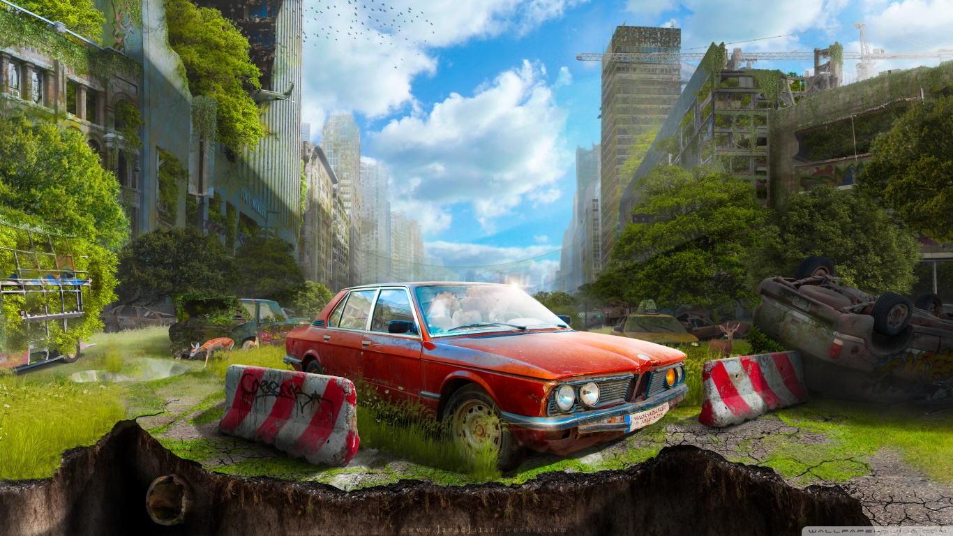 The last vehicle wallpaper 1366x768